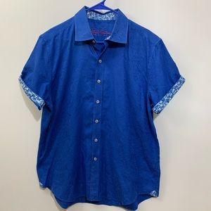 Robert Graham Short Sleeve Button Down Shirt